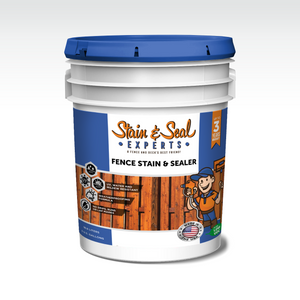 Fence Stain & Sealer | Semi Transparent | 5 Gallons | Color Options - Stain & Seal Experts Store
