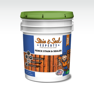 Fence Stain & Sealer | Semi Solid Transparency | 5 Gallons | Color Options - Stain & Seal Experts Store