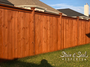 Fence Stain & Sealer | Semi Solid Transparency | 5 Gallons | Color Options | FREE SHIPPING - Stain & Seal Experts Store