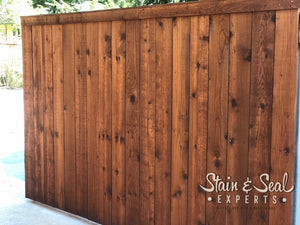 Fence Stain & Sealer | Semi Transparent | 5 Gallons | Color Options | FREE SHIPPING - Stain & Seal Experts Store