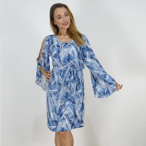 Serene Split Sleeve Dress - Rebecca Ruby