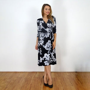 Leilani Wrap Dress - Rebecca Ruby