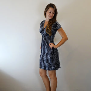 Star Lit Knot Front Dress