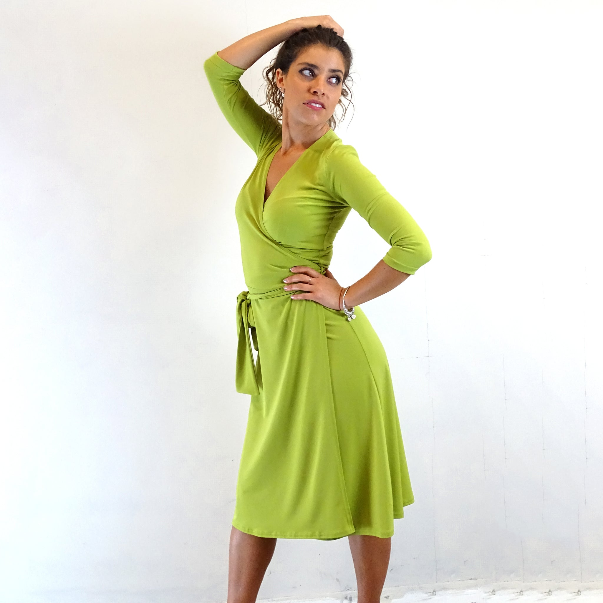 Mojito Wrap Dress