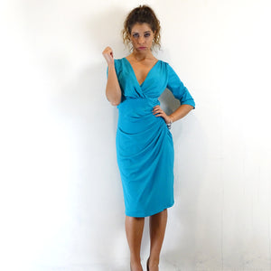 Oasis Ruched Dress
