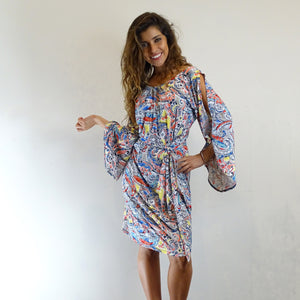 Puento Split Sleeve Dress