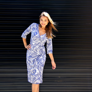 River Isle Ruched Dress