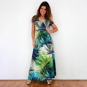 Tropical Island Maxi Dress - Rebecca Ruby