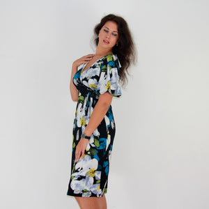 Spectrum Geisha Dress - Rebecca Ruby
