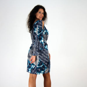 Serenity Split Sleeve Dress - Rebecca Ruby