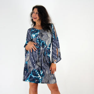 Serenity Split Sleeve Dress