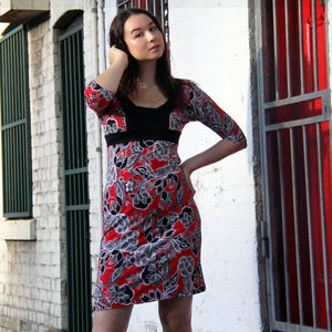 Vermilion Geisha Dress - Rebecca Ruby