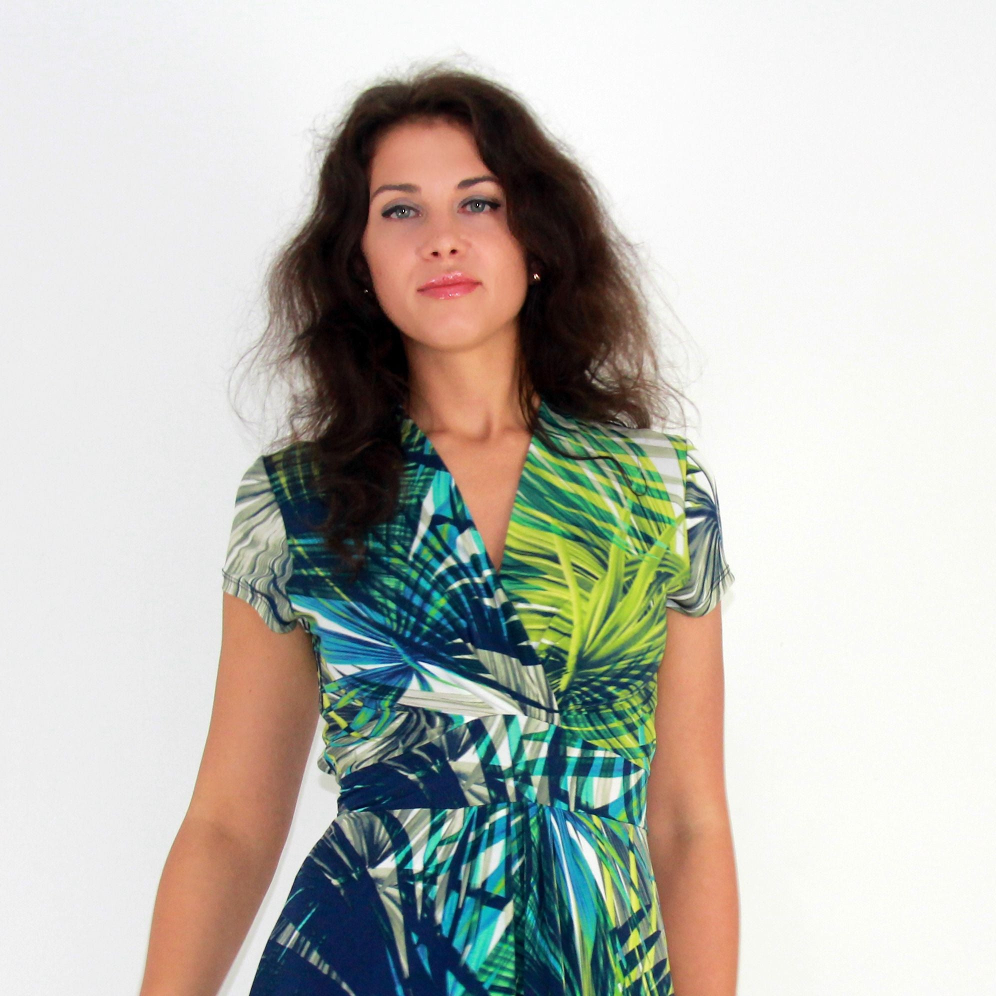 Tropical Island Geisha Dress - Rebecca Ruby