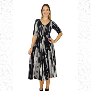 City Girl Fit & Flare Dress - Rebecca Ruby