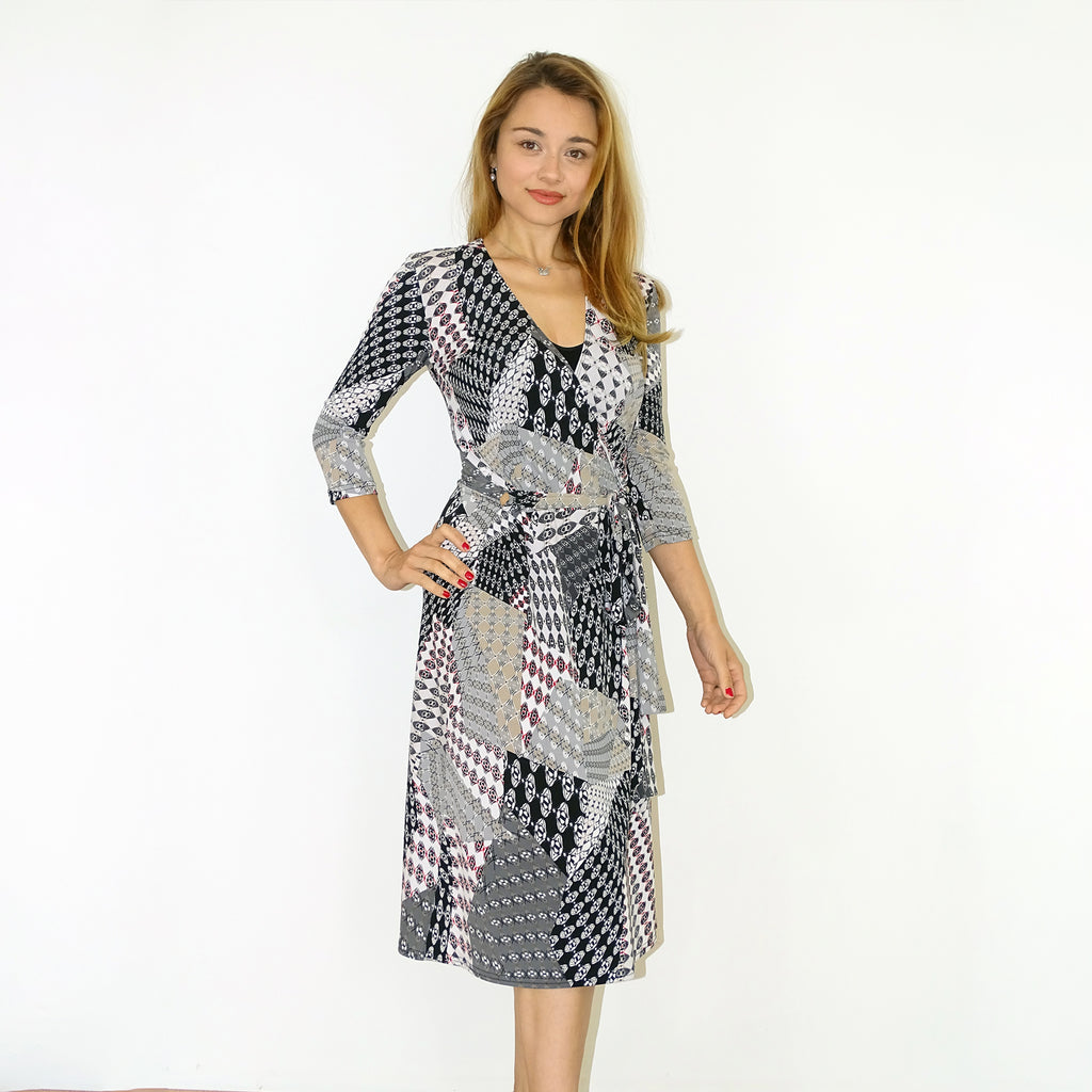 Mayan Wrap Dress - Rebecca Ruby