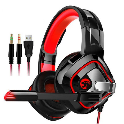 Hello Headphones Noise Canceling Gaming Headset With Stereo Microphone for PC