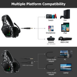 Hello Headphones K20 Surround LED Universal Gaming Headset