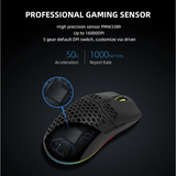 Hello Headphones X700 Ultra Lightweight 67 Gram Gaming Mouse