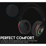 Hello Headphones USB Fantech Octane 7.1 Surround Gaming Headphones With Personalized Surround Software