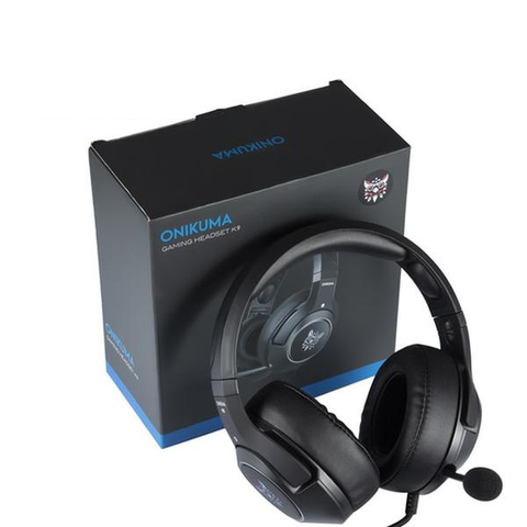 Hello Headphones ONIKUMA K9 Wired PS4 & PC Gaming Headphones With Retractable Mic