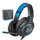 Hello Headphones K9 Wired Gaming Headphones With Retractable Mic
