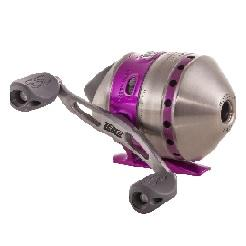 Zebco 33 Ladies Purple Spincast Reel