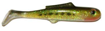 "Big Bite Swim Minnow 5"" 4ct Baby Bass DWO"
