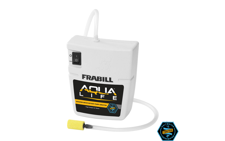 Frabill Aerator Quite Portable 10gal 2-D Battery