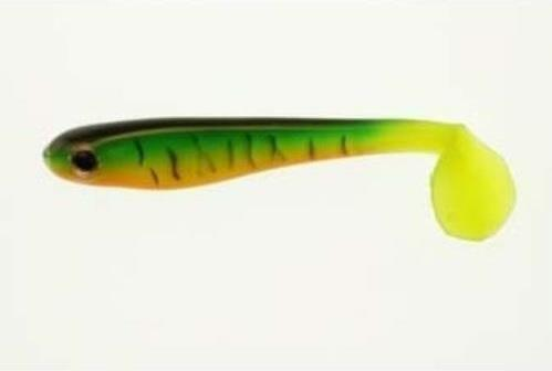 "Berkley Hollow Belly Swimbait 5"" 3ct Firetiger DWO"