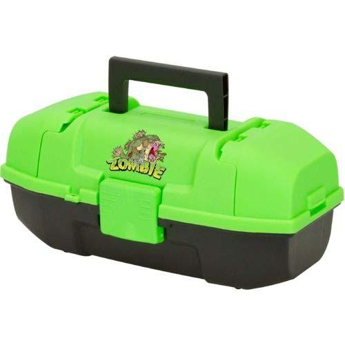 Plano Youth Tackle Box Zombie Fish Neon Green-Black