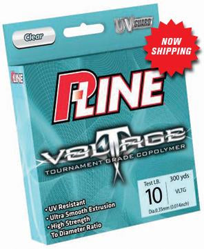 P-Line Voltage Copolymer Clear Line 300yd 17lb