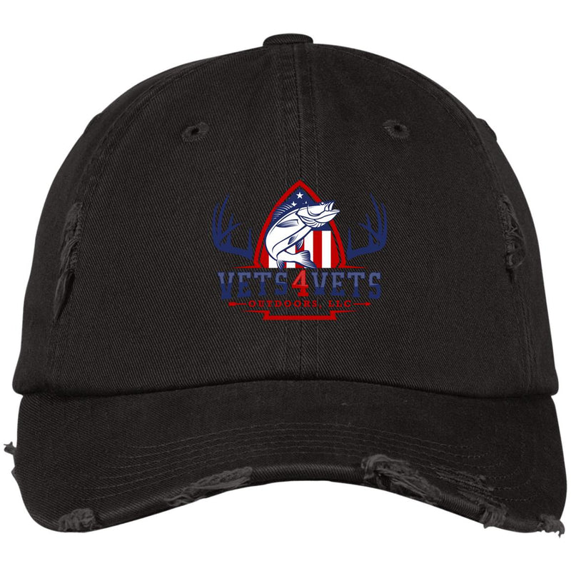 DT600 District Distressed Dad Cap