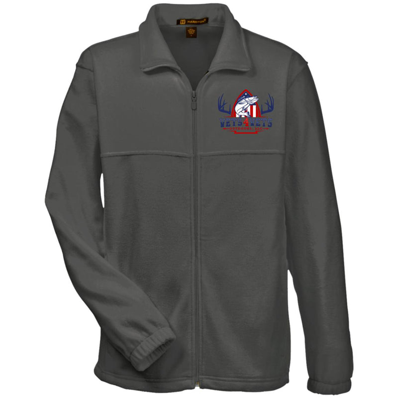 M990 Harriton Fleece Full-Zip