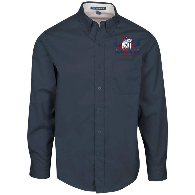 V4V - Port Authority Men's LS Dress Shirt
