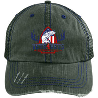 V4V - Distressed Unstructured Trucker Cap