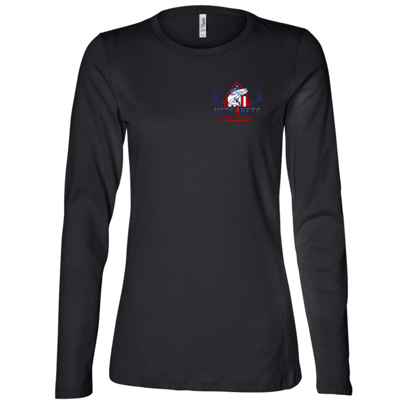 V4V - Bella + Canvas Ladies' Jersey LS Missy Fit
