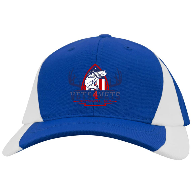 V4V - Sport-Tek Youth Mid-Profile Colorblock Cap