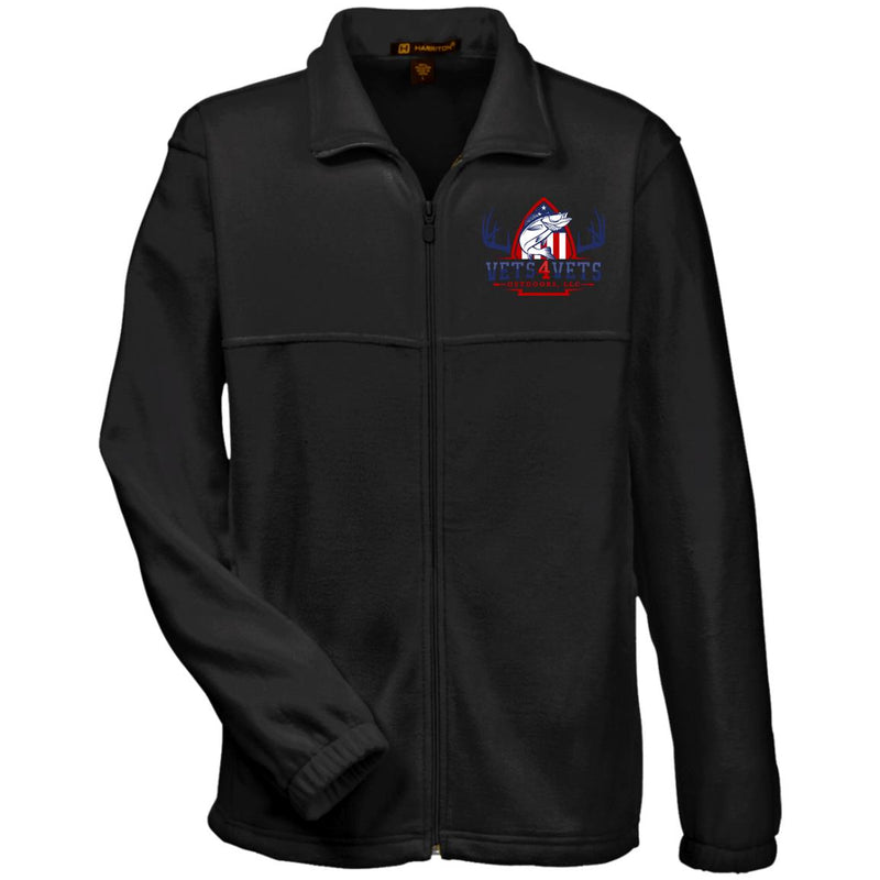 V4V - Harriton Fleece Full-Zip