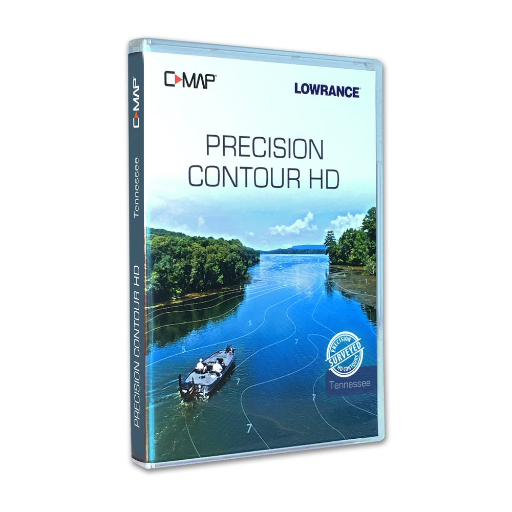 C-map Precision Contour Hd Tennessee For Navico
