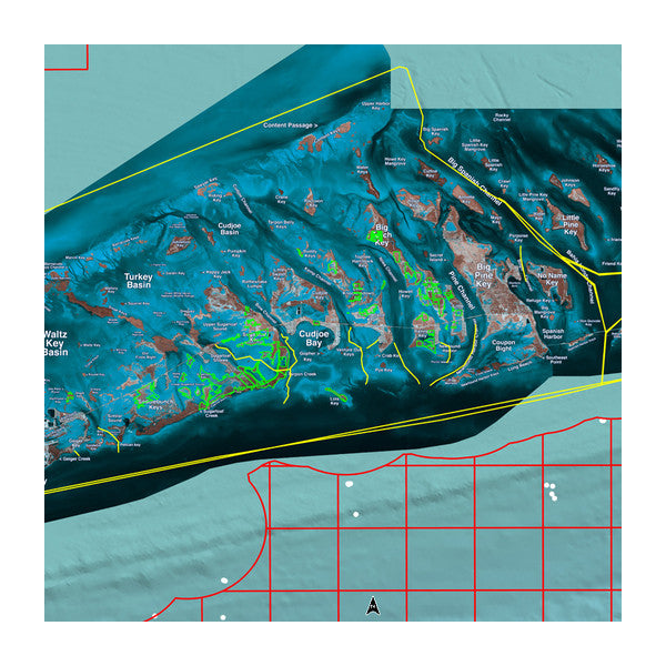 Garmin Florida Keys Standard Mapping Professional