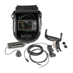 Humminbird Helix5 Chirp G2 Ice Sonar Gps System All Season Kit