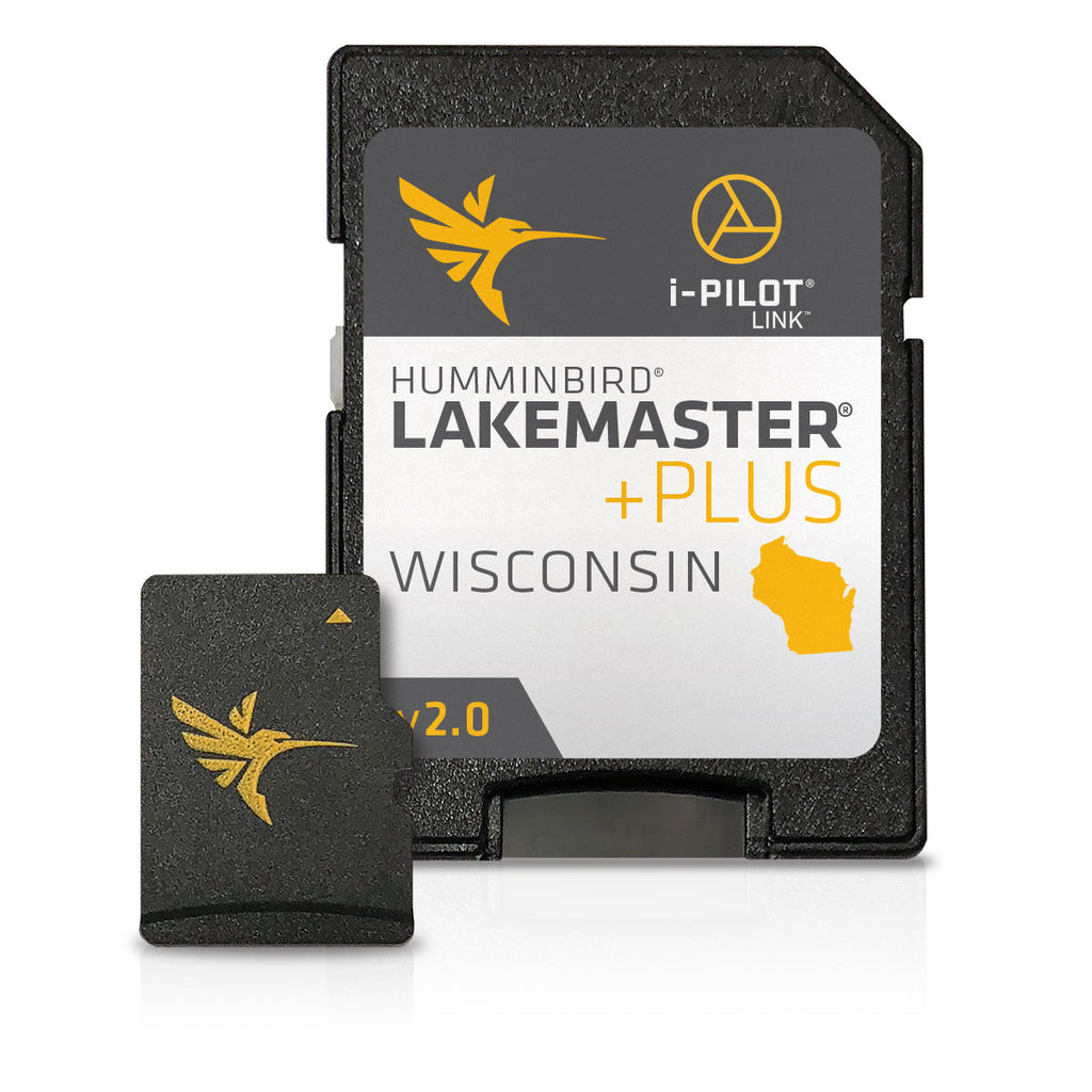 Humminbird Lakemaster Plus Wisconsin V2