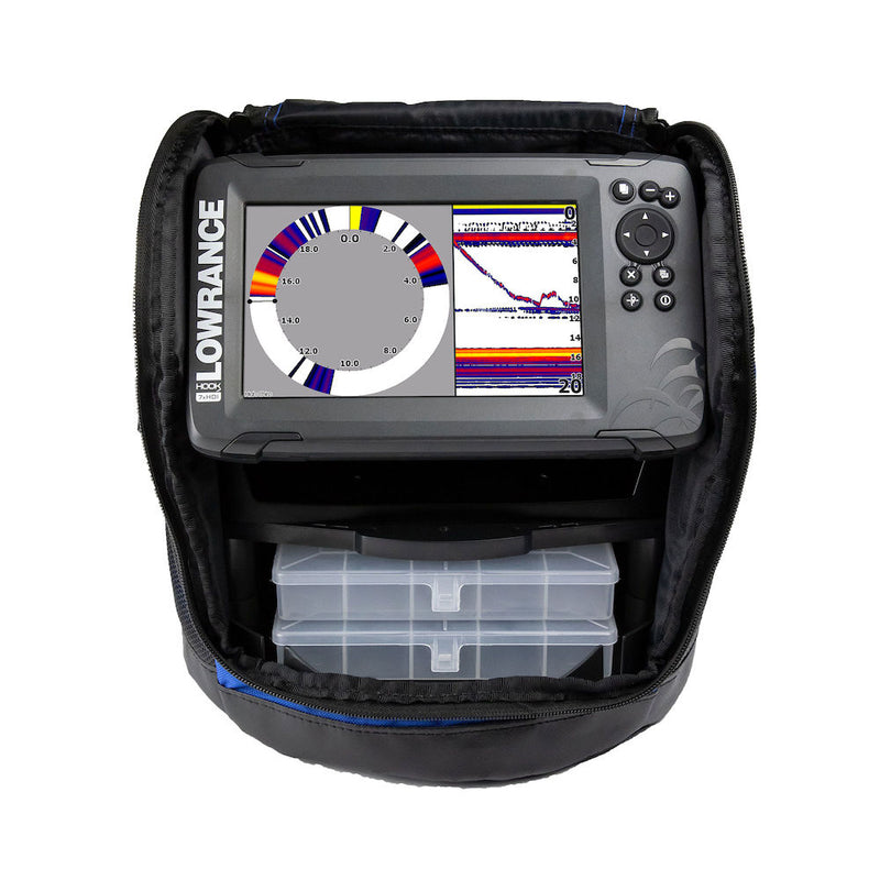 Lowrance Hook2-7 Ice Machine