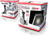 Striker Trilight Shop Light - 3000 Lumens W-adjustable Heads