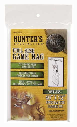 "Hs Field Dressing Game Bag - Deer Size 40""x72"""