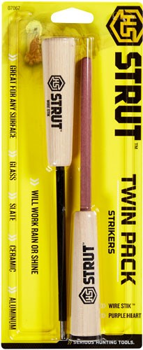 Hs Strut Call Striker Twin - Pack For Pot Style Carbon-wood