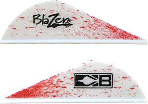 "Bohning Blazer Vanes True - Color 2"" Blood Splatter 100pk"