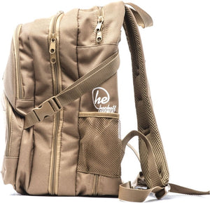 Hackett Little Bertha 2 Pistol - Range Backpack Coyote Tan
