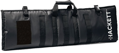 "Hackett Rifle Burrito 42"" Case - -shooting Mat Black"