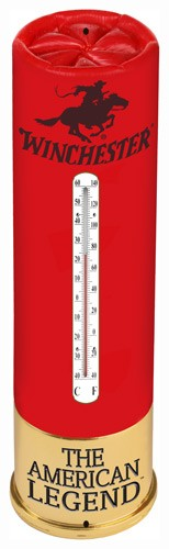 "Rivers Edge Winchester Shot - Shell Thermometer 25""x7"""